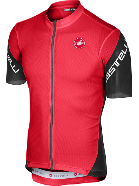Castelli Entrata 3 FZ Jersey Men red